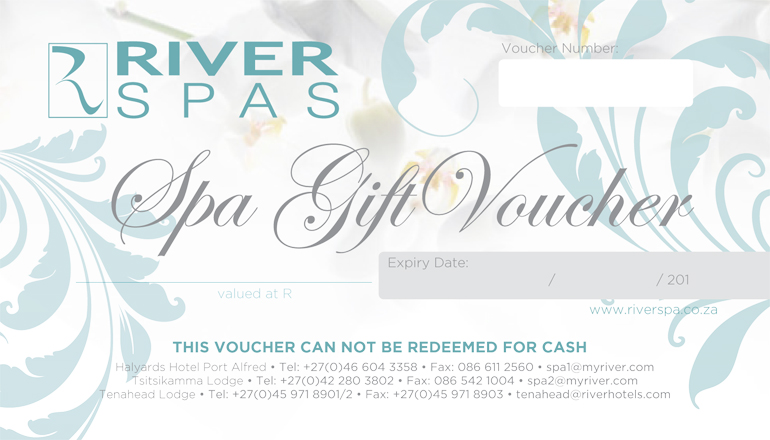 River Spa Vouchers